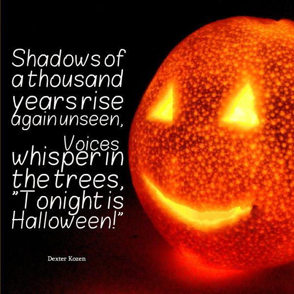 Post Navigation. Published InDexter Kozen Halloween Quote