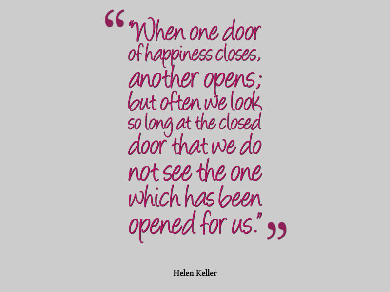 Helen keller quote about happiness and opportunity awesome quotes post navigation published inhelen keller quote altavistaventures Images