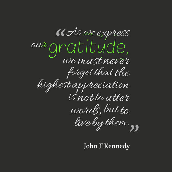 Words Of Thanks And Appreciation Quotes: Awesome Quotes About Life