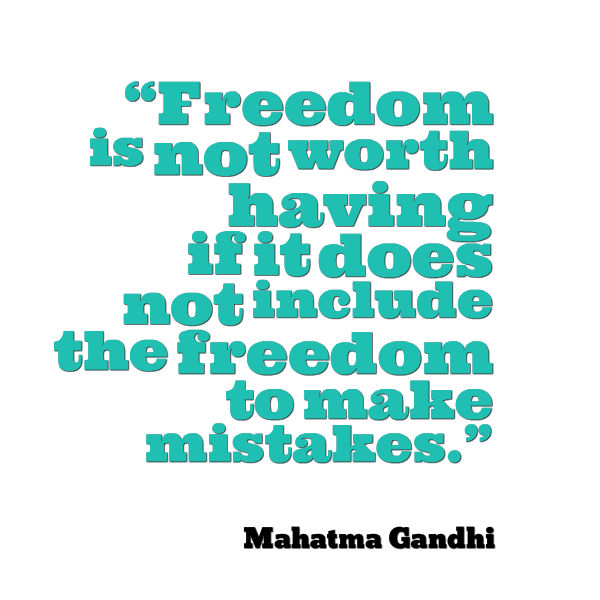 Amazing Post Navigation. Published InMahatma Gandhi Quote About Freedom Great Ideas