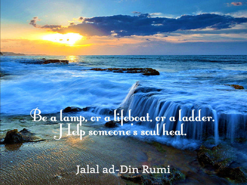 Rumi Quote About Healing Awesome Quotes About Life