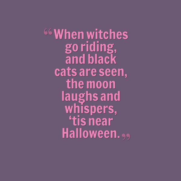 Quote About Halloween