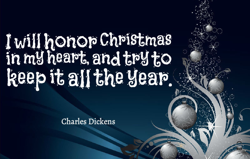 quotes about christmas - Christmas In My Heart