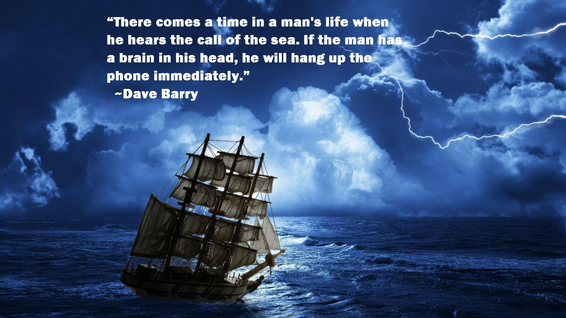 Quotes About Sailing And Life Dave Barry Quotes  Awesome Quotes About Life