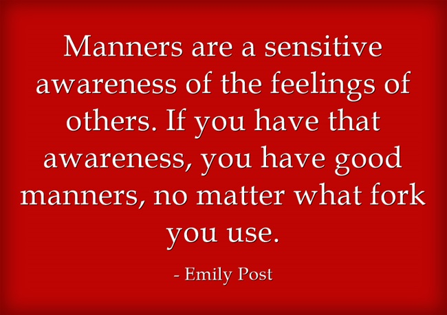 Manners Matter Quote Post Quote About Manners