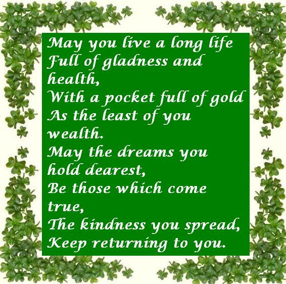 Irish Quotes About Life Pleasing Irish Blessing  Awesome Quotes About Life
