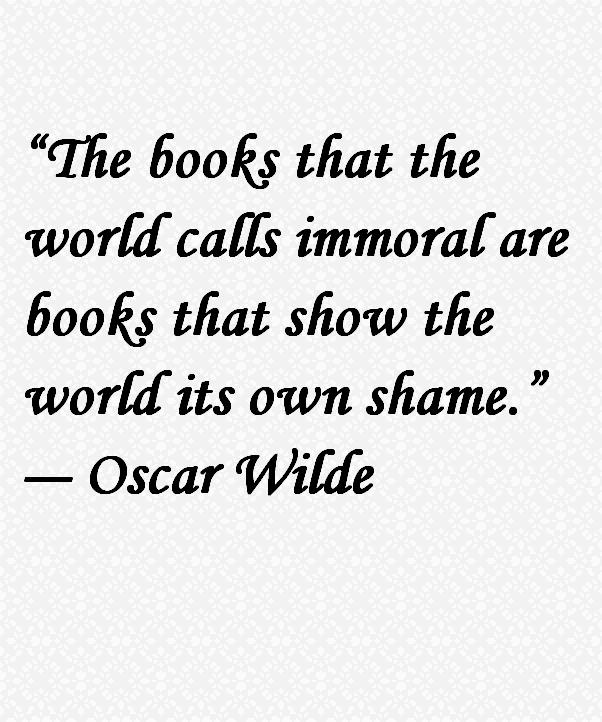 Oscar Wilde Quote About Books