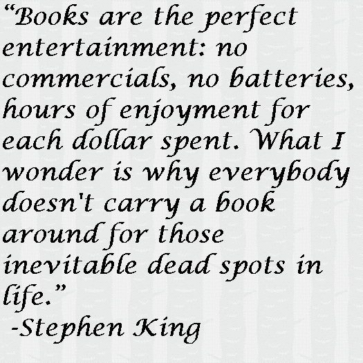 Stephen King Quotes From Books. QuotesGram