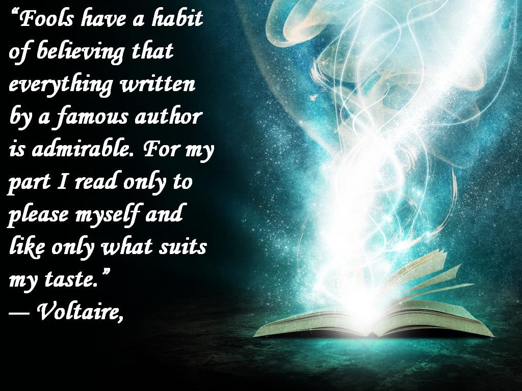 Quotes Voltaire Voltaire Quote About Reading  Awesome Quotes About Life