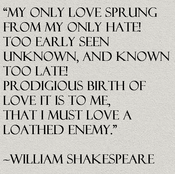 Shakespeare Love Quotes Best William Shakespeare Quote About Love  Awesome Quotes About Life