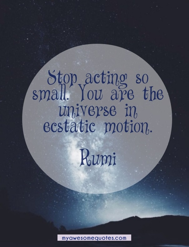 Rumi Quotes On Life Adorable Rumi Quote About Self Worth  Awesome Quotes About Life