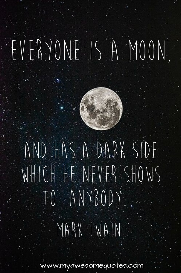 Mark Twain Quotes About Life | Mark Twain Quote About The Moon Awesome Quotes About Life