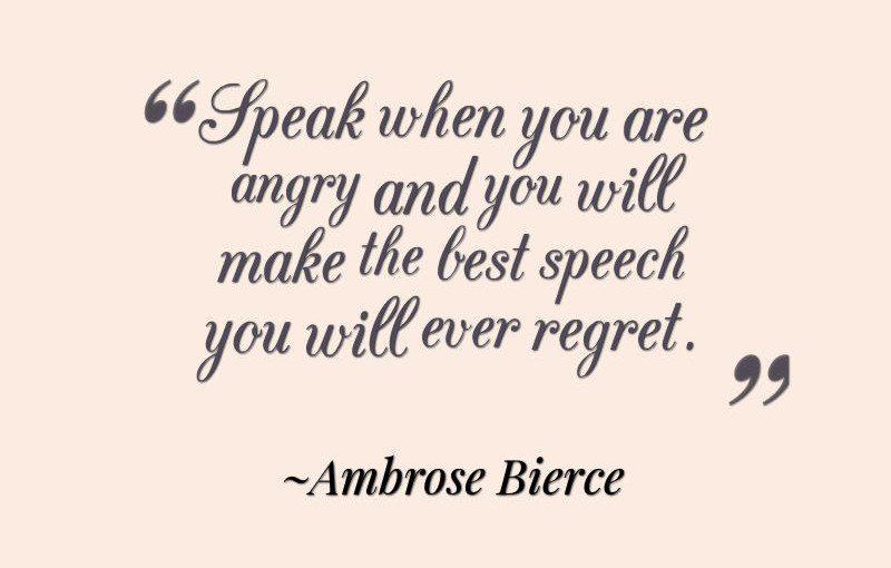 Quotes About Anger - Awesome Quotes About Life