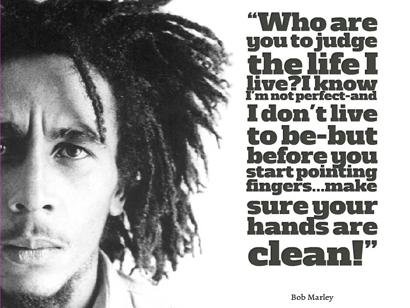 Bob Marley Quote About Life Awesome Quotes About Life